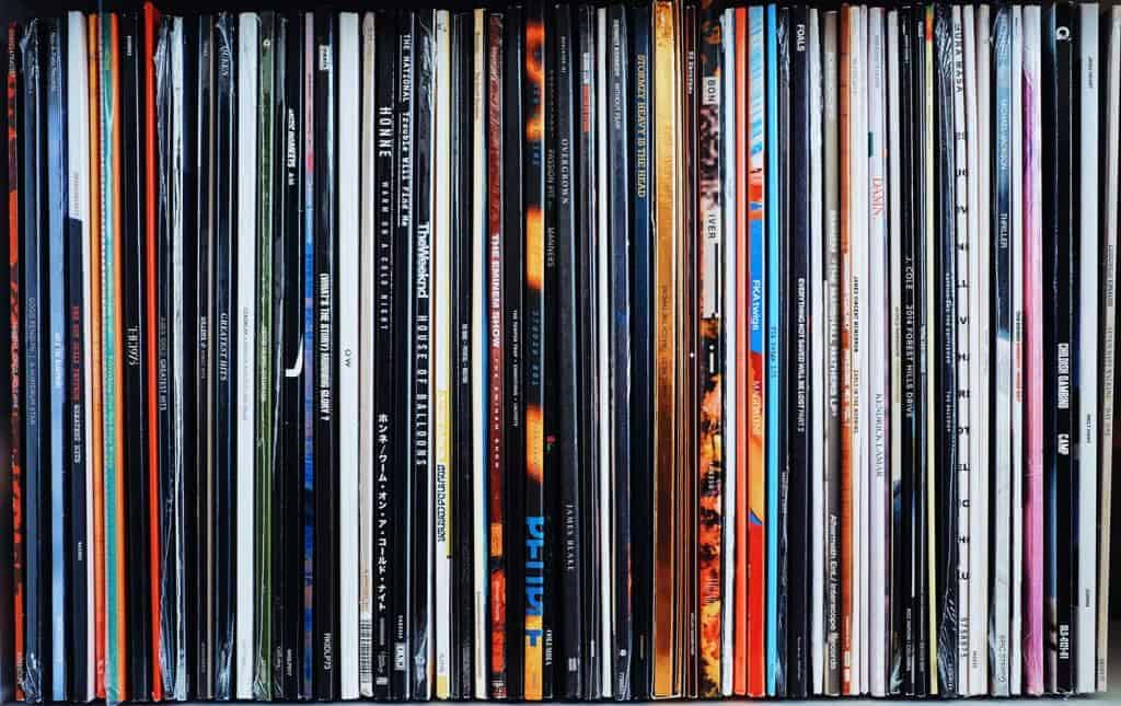 What is a vinyl record?