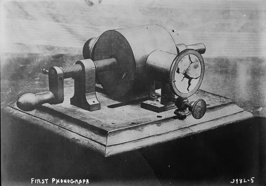 First Phonograph | History of records